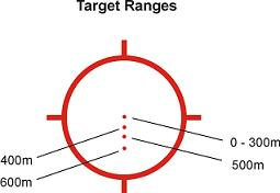 557 reticle calibrations