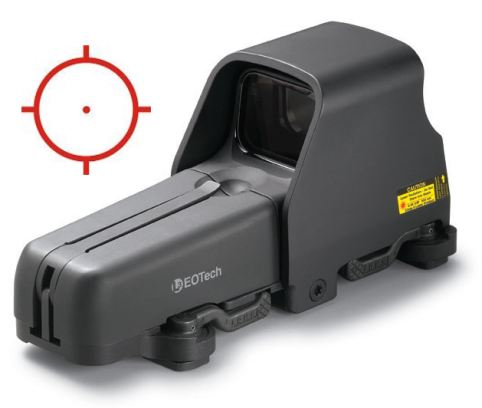 Eotech 555.A65 holographic weapon sight