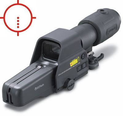 Eotech 557.AR223 with G23.FTS magnifier