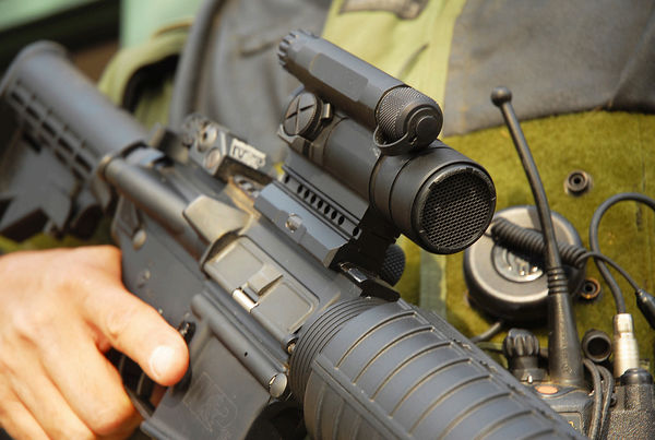 Aimpoint CompM4 red dot sight