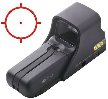 Eotech 512.A65/1 Holographic Weapon Sight
