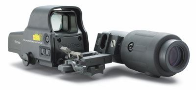 Eotech 557.AR223 in combination with G23.FTS flip to side magnifier