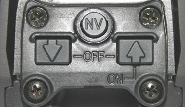 Rear view of Eotech 552 buttons