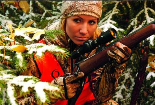 The Aimpoint Hunter H30L is at home in all hunting conditions