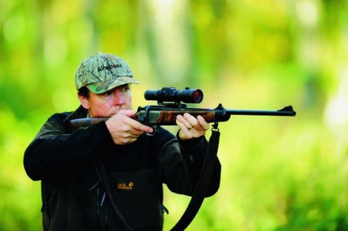 Aimpoint Hunter on Blaser hunting rifle