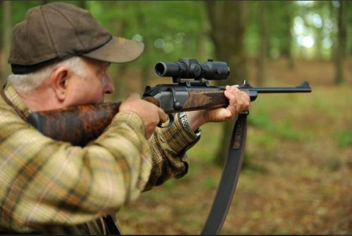 Aimpoint Hunter H34L on Blaser hunting rifle