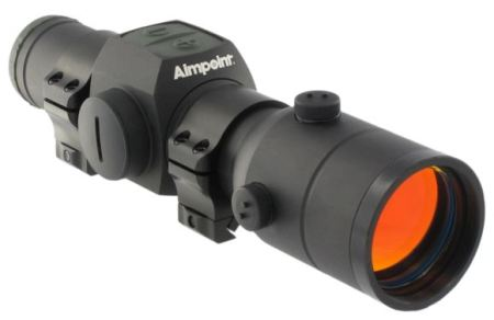 Aimpoint Hunter H34S with Weaver-style mounts (included)