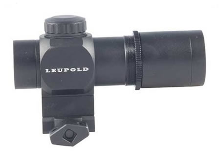 Leupold prismatic rifle scope left hand side