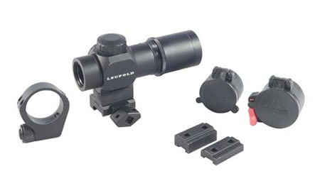 Leupold prismatic rifle scope and accessories