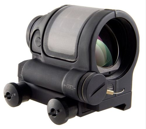 Trijicon Sealed Reflex Sight 892-000-097WB SRS W/ FLATTOP MOUNT