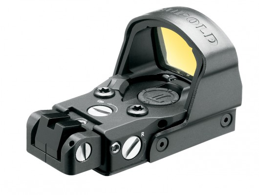 Leupold DeltaPoint Pro showing optional handgun backsight