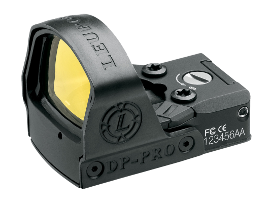 Leupold DeltaPoint Pro has a replaceable impact resistant shield