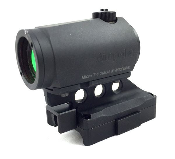 SIDLOK Micro base with Aimpoint T-1 optic
