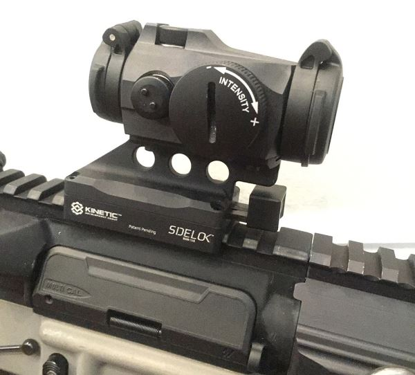 The SIDELOK Micro mount has a very slim profile