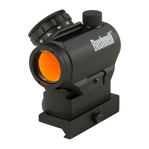 Bushnell TRS-25 on high rise mount