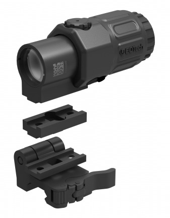 New Eotech G33 3.5x magnifier, flip to side mount and spacer.